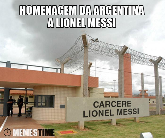 Memes Time Carcere Lionel Messi – Homenagem da Argentina\