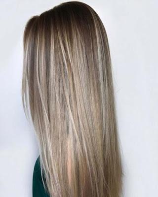 ไอเดียสีผม Blonde Beige