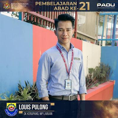 Guru Adiwira PAK21: Cikgu Louis Pulong [SK Kerupang, Wilayah Persekutuan Labuan]