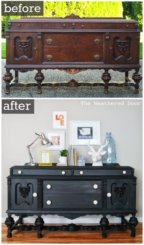 Before and After - The Weathered Door