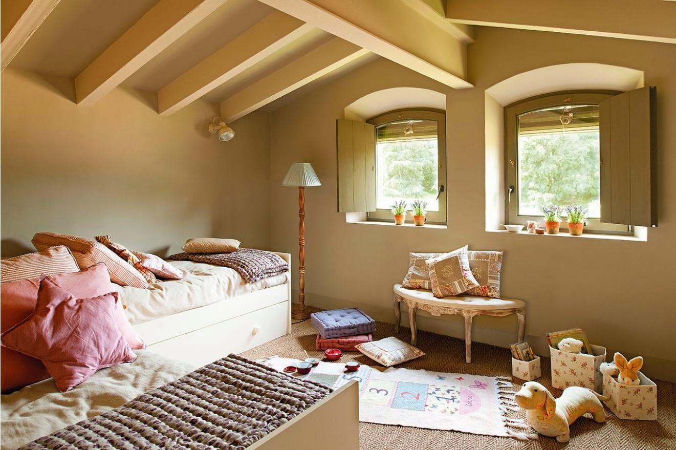 dormitorio infantil casa de campo