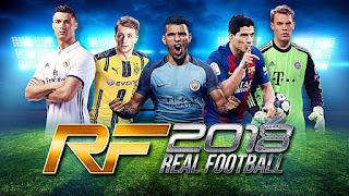 تحميل لعبة Real football 2018 للأندرويد