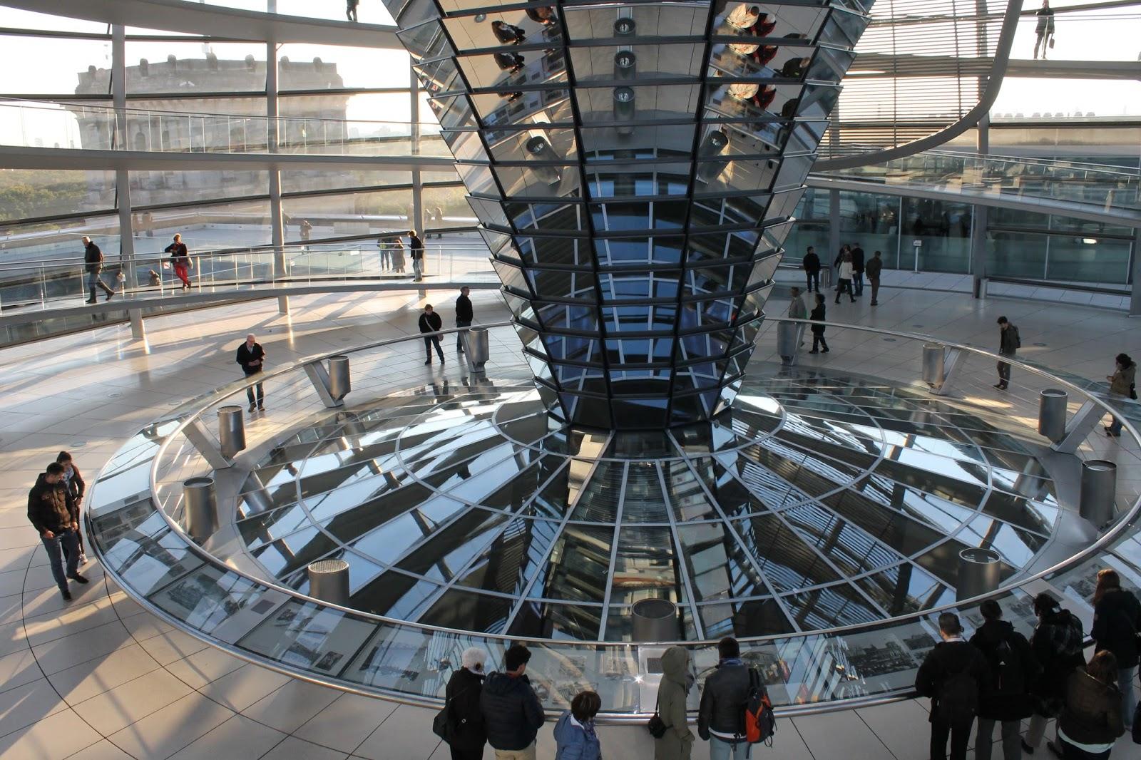 Cúpula Parlamento Berlin