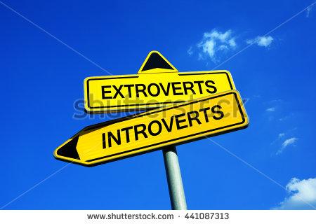 karakter extrovert dan introvert