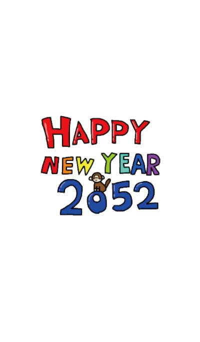 Happy new year 2052