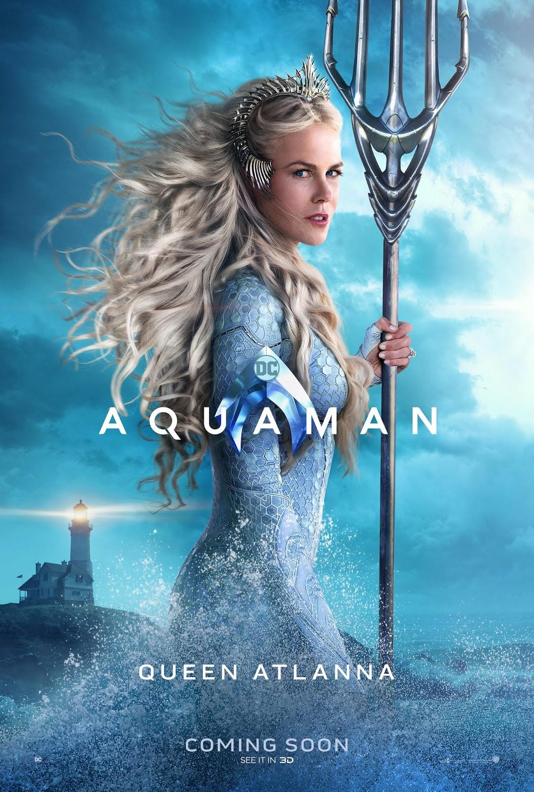 aquaman character poster