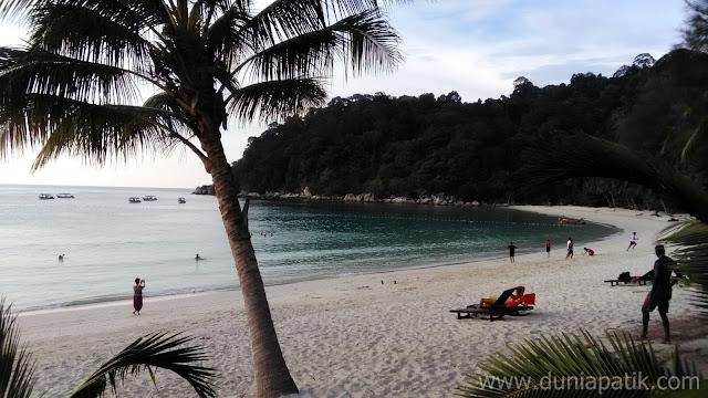 Pantai Teluk Pauh di Perhentian Island Resort yang sangat cantik