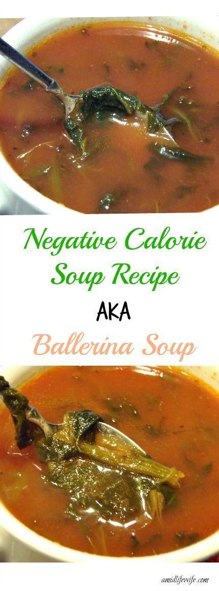 Negative Calorie Soup Recipe aka Ballerina Soup