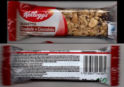 Barrette Mandorle e Cioccolato della Kellogg's