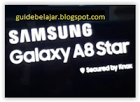 Samsung A8 Star Logo