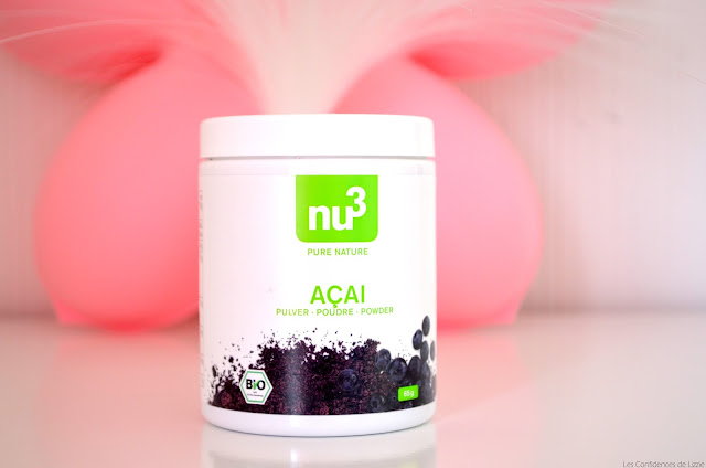 açai - bio - superaliment - nu3 - avis sur l'açai - définition de l'açai - bienfaits de l'açai