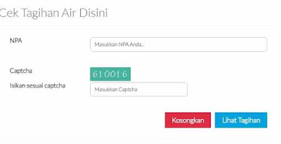√ Cara cek jumlah Tagihan PDAM secara Online dengan Mudah dan aman 5