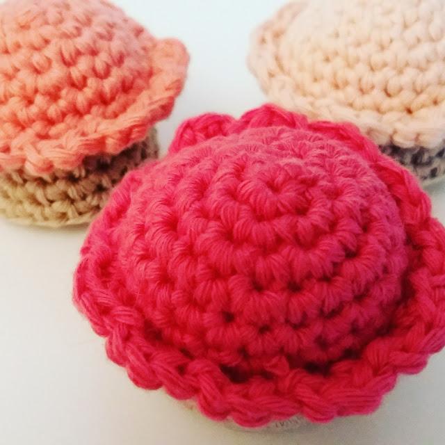 tuto cupcakes dinette crochet