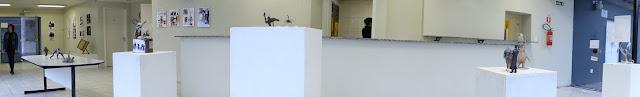 "Fábio Purper Machado, ""Micronarrativas de Papel"", esculturas-HQ e HQs-escultura, 2012."