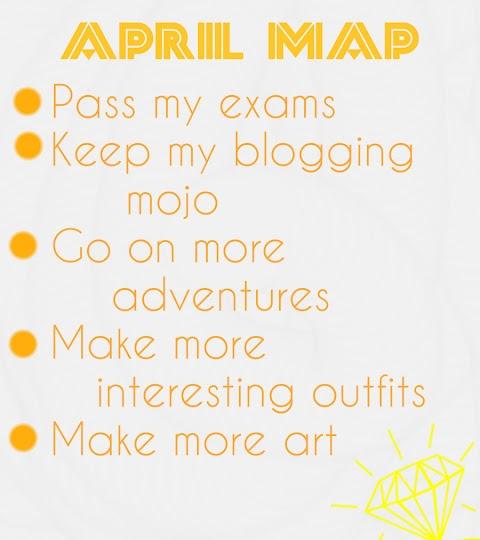 April MAP!