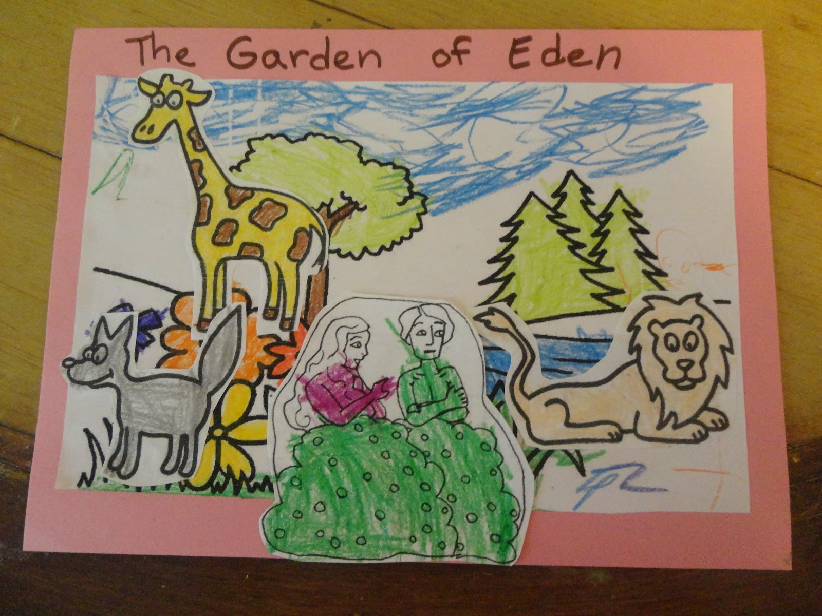 Tiny Hearts Blog: Lesson 10: Intro To Garden Of Eden And