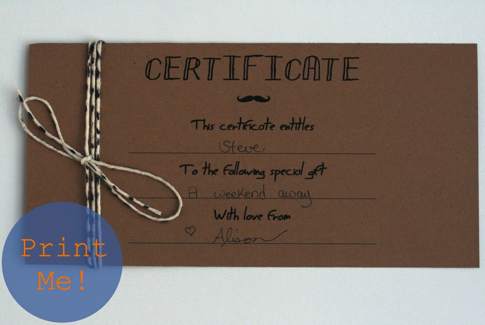 homemade coupon template homemade coupon book homemade christmas – Gift Certificate Blank Template