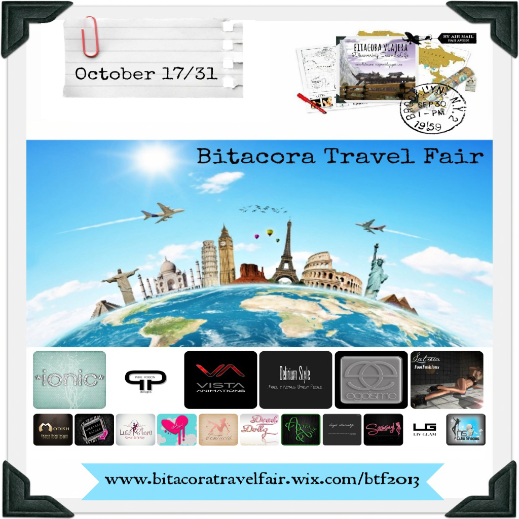 Travel fair 10. 17 to 10/31