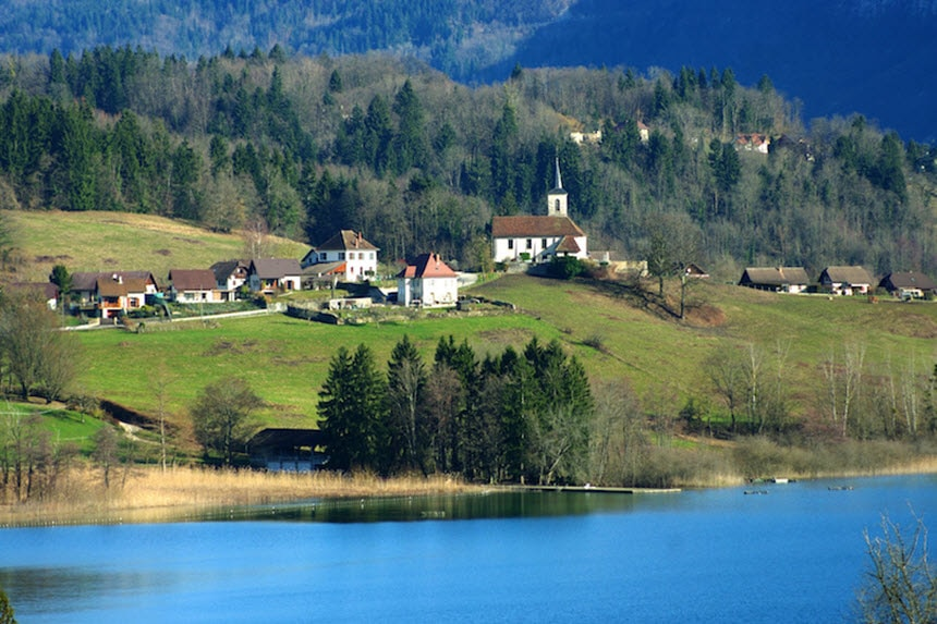Những hồ nước quyến rũ nhất nước Pháp -6