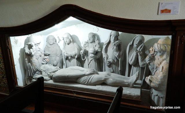 Imagens sacras na Igreja da Misericórdia, Seia, Serra da Estrela, Portugal