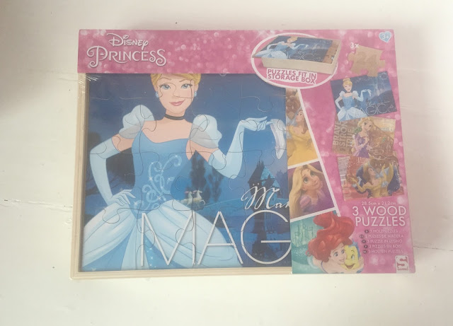 Disney Princess wooden jigsaw