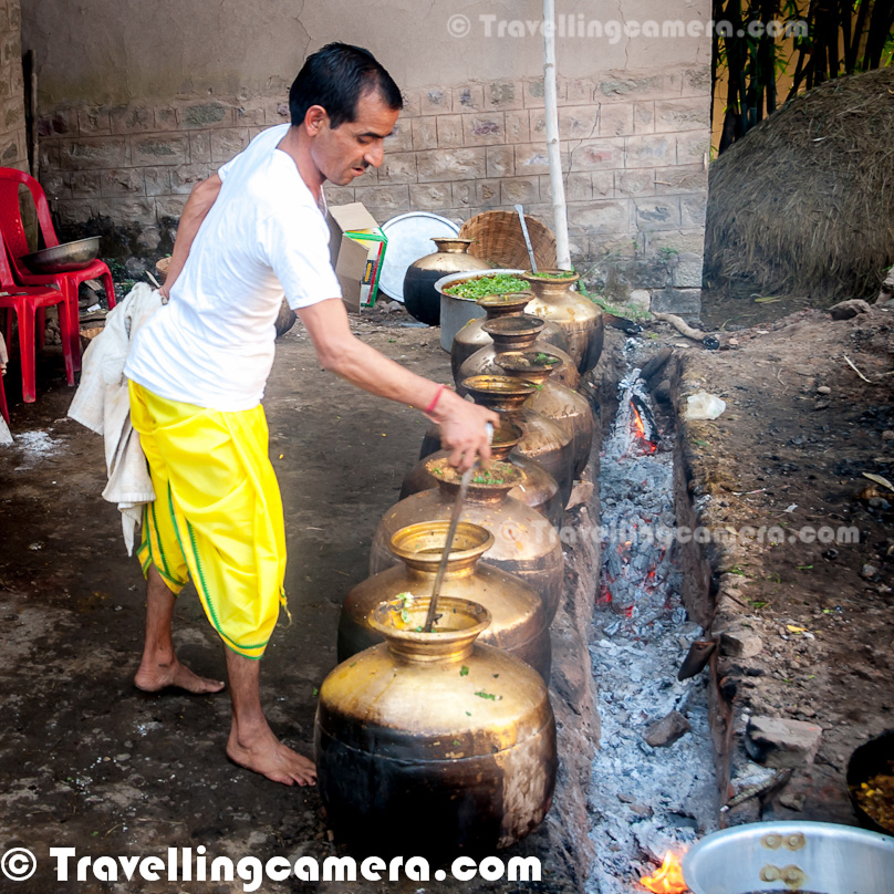 Mandi Dham A Special Food Preparation Process During
