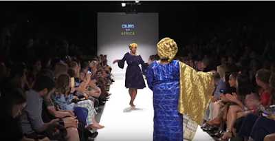 Nigerian Ladies Dances Shaku Shaku & Gwara Gwara At Vienna Fashion Week, Austria