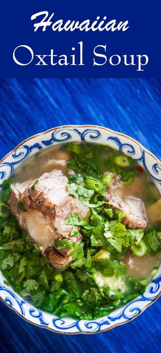 Hawaiian Oxtail Soup Recipes