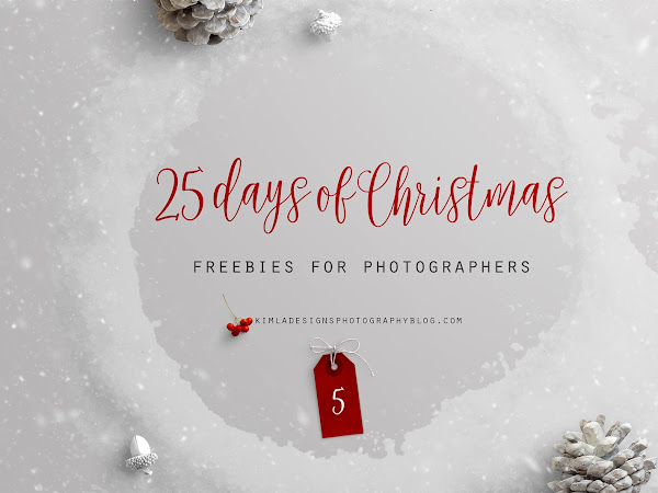 25 Days of Christmas Freebies for Photographers - Day 5th