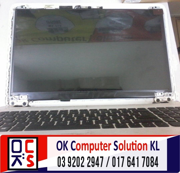 [SOLVED] SKRIN LAPTOP HP 15-AC045TX | REPAIR LAPTOP CHERAS 2