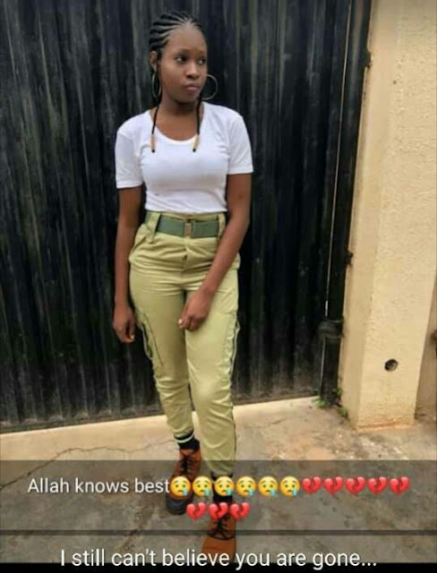 Female Corper Dies In Accident On Her Way To Ibadan (Photos)