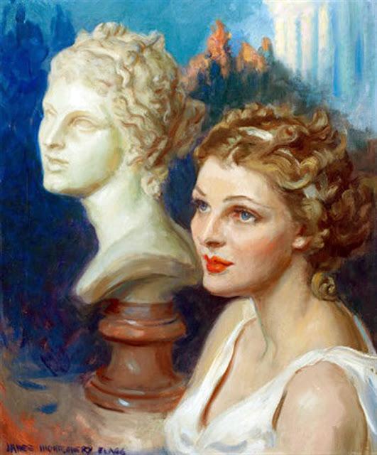 James Montgomery Flagg, Venus, International Art Gallery, James Montgomery, Self Portrait, Art Gallery, Portraits of Painters, Fine arts, Self-Portraits, Painter James Montgomery