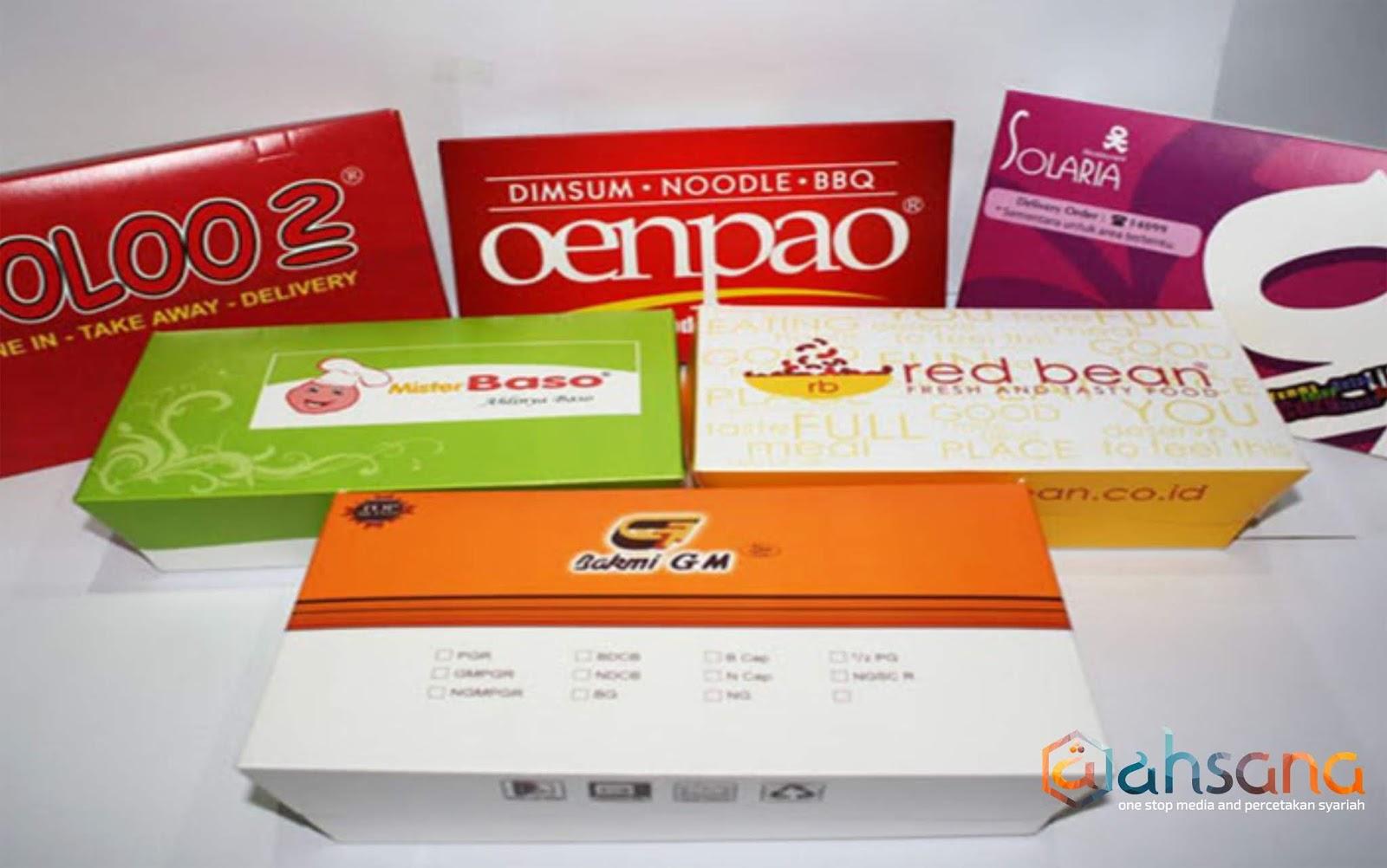 Jasa Cetak Dus Kemasan Percetakan Syariah Replikasi Cd Vcd Dvd Packing Tags Box Makanan Surabaya