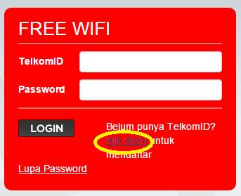 Cara Mendapatkan Internet Gratis @wifi.id Selama 15 Menit