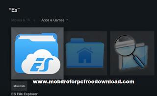 Click to Install ES File Explorer