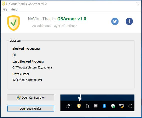 برنامج NoVirusThanks لحماية الكمبيوتر من جميع  البرمجيات الضارة والخبيثة