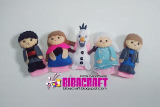 Biba Craft Collection  Finger Puppets Boneka Jari b4cf049718