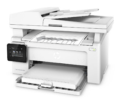 The cream white model is designed for HomeOffice in addition to minor working groups HP LaserJet Pro M130fw Driver Download
