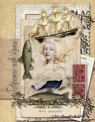 Marie Antoinette- ©Jill Marcott-McCall- For Graphics Fairy Premium Membership