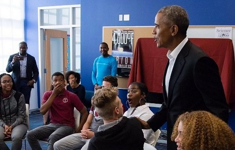 US Ex-President Barack Obama Left  High Schools Students Absolutely Speechless After His Words Of Encouragement