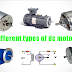 Types of DC Motors | Classification of DC Motors