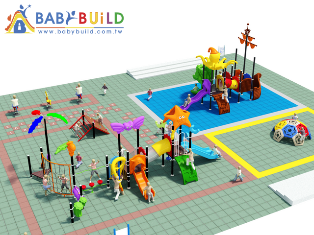 BabyBuild 遊具海洋風格主題設計
