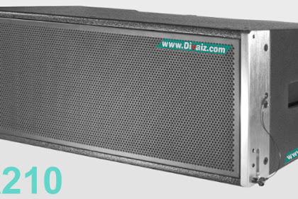 """Skema & Cara Membuat Box Speaker Line Array 10"""" La210"""