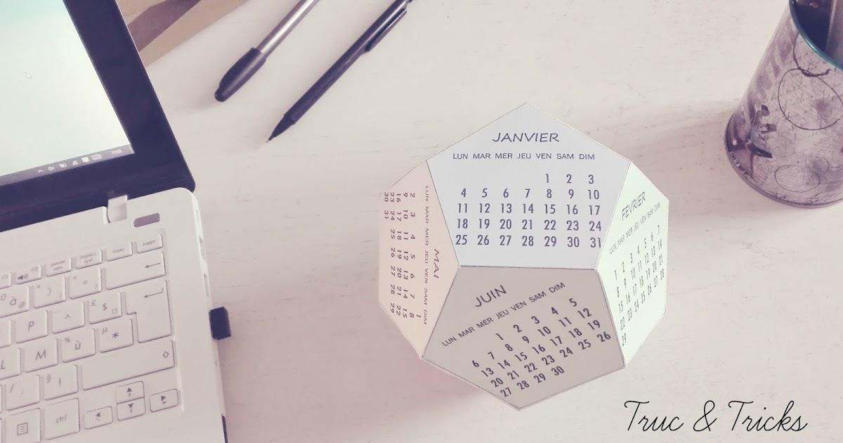 Truc tricks objet d co calendrier 2016 diy for Objet deco 2016