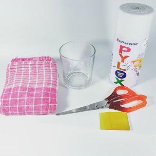 Peralatan Dan Bahan Untuk Bekerja Menggunakan Kertas Decal