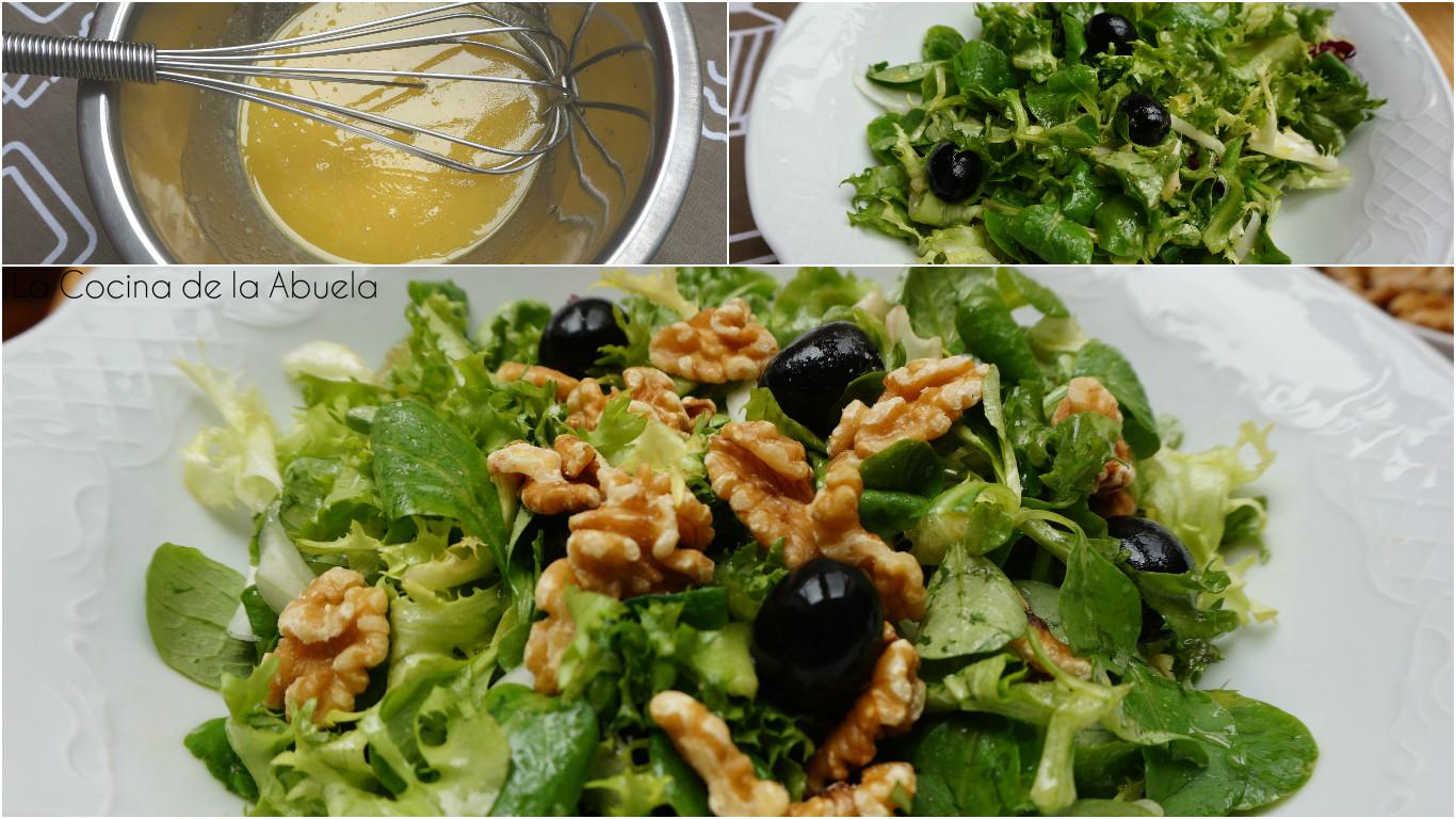 La cocina de la abuela for Ensalada francesa