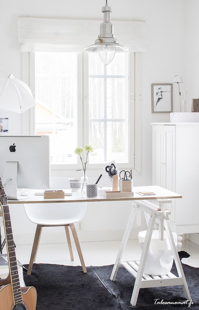 Como hacerte con un despacho nórdico como este LOW COST!