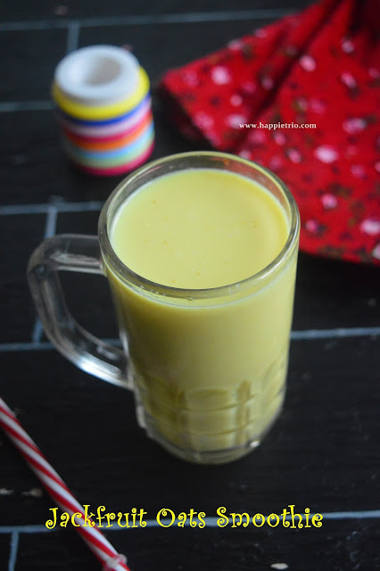 Jack fruit Oats Smoothie Recipe | Breakfast Smoothie