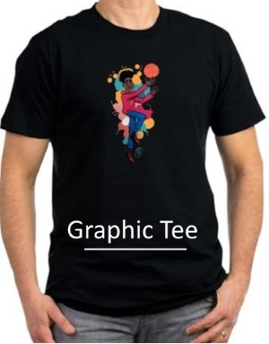 Graphic Tee Basketball
