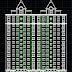مشروع عمارة سكنية من 13 طابق اتوكاد dwg
